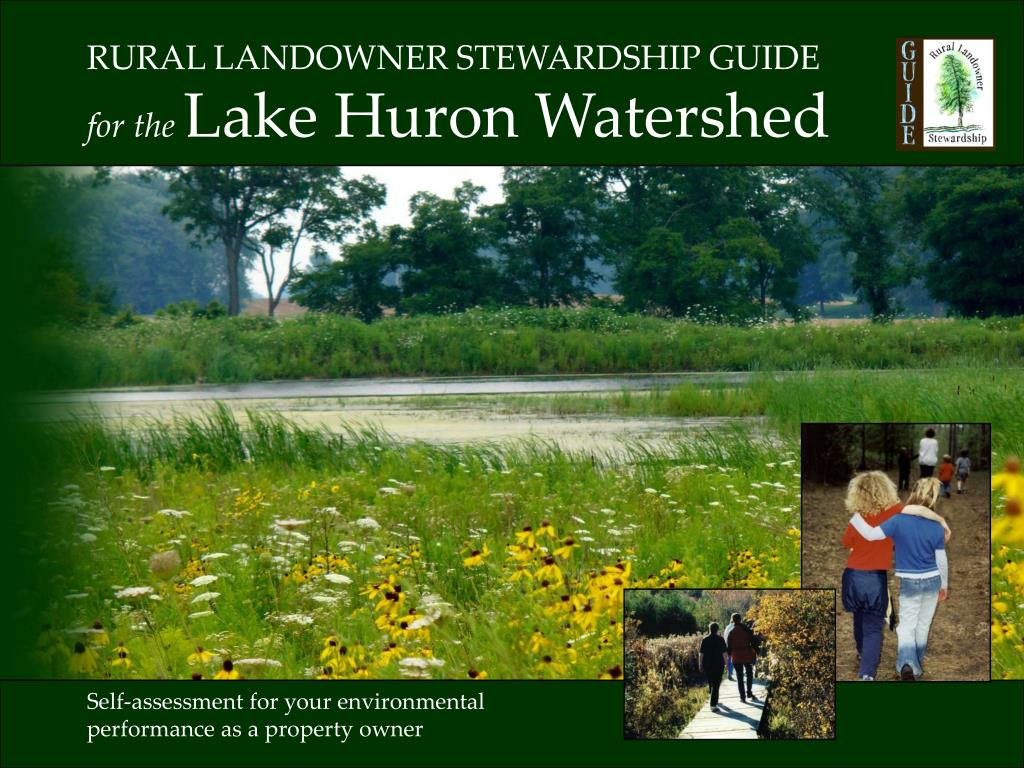 rural landowner stewardship guide for the lake huron watershed l.