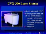 cvx 300 laser system