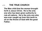 4 tc the true church9