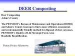 deer composting