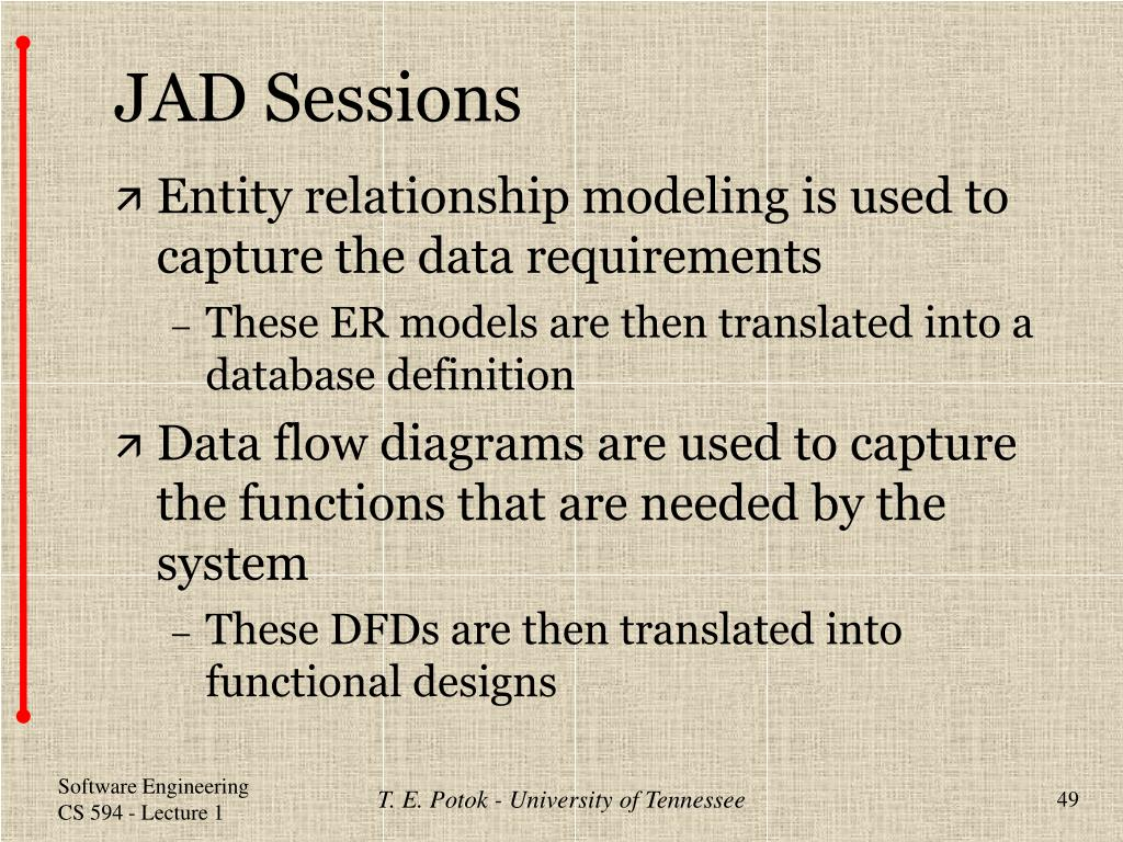 JAD Sessions