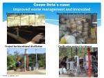 coope dota s case improved waste management and innovated