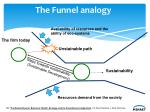 the funnel analogy