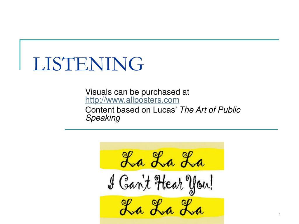 listening l.