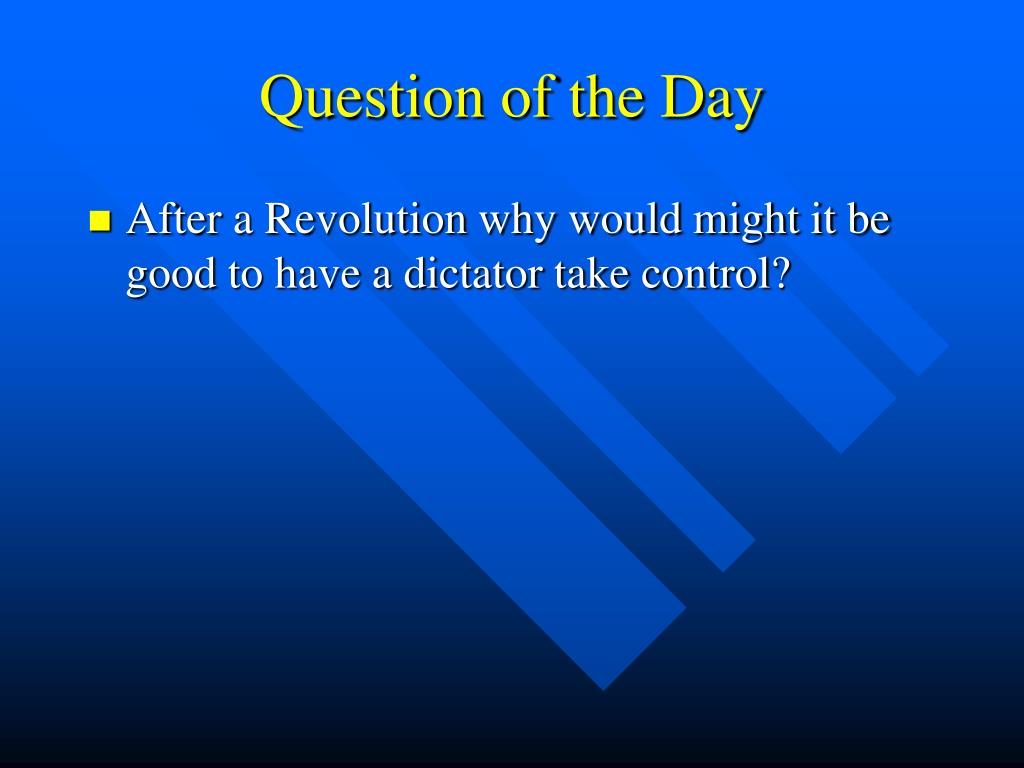 question of the day l.