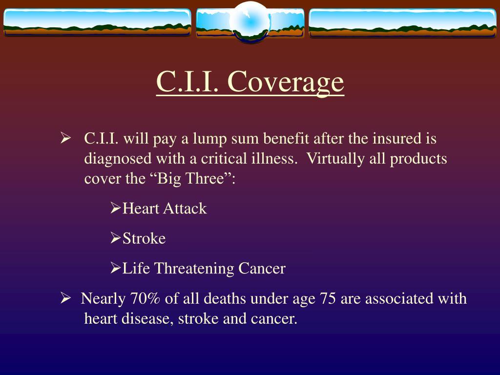 C.I.I. Coverage