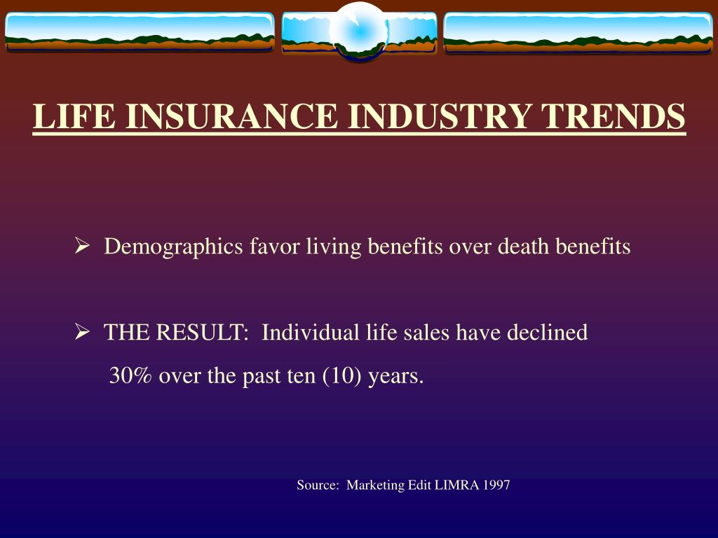 LIFE INSURANCE INDUSTRY TRENDS