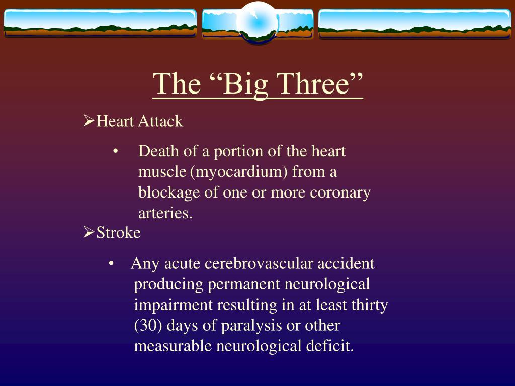 "The ""Big Three"""