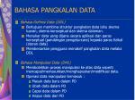 bahasa pangkalan data27