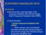 komponen pangkalan data15