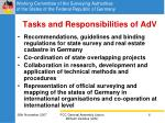 tasks and responsibilities of adv
