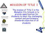 mission of title i