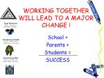 working together will lead to a major change