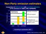 non party emission estimates