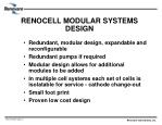 renocell modular systems design