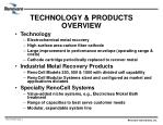 technology products overview
