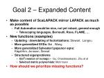 goal 2 expanded content