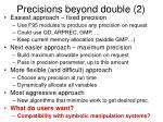 precisions beyond double 2