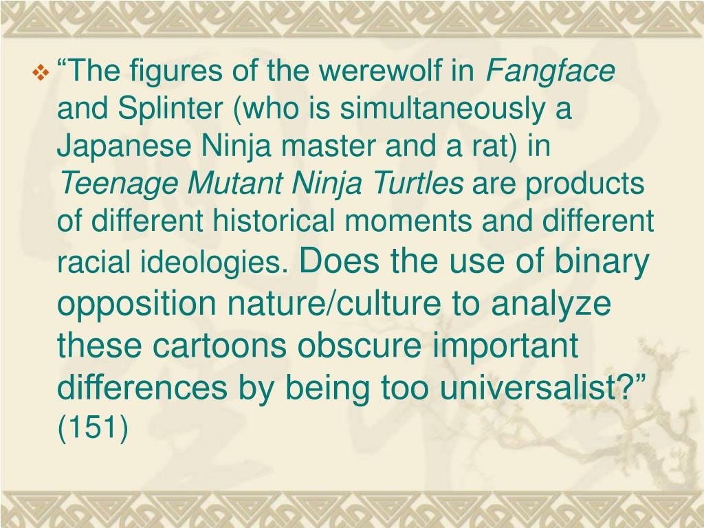 """""""The figures of the werewolf in"""