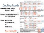 cooling loads33