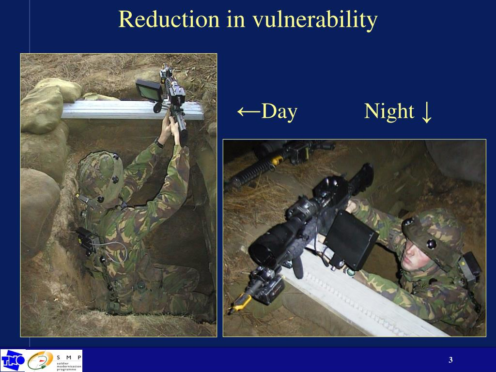 Reduction in vulnerability