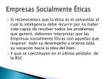 empresas socialmente ticas