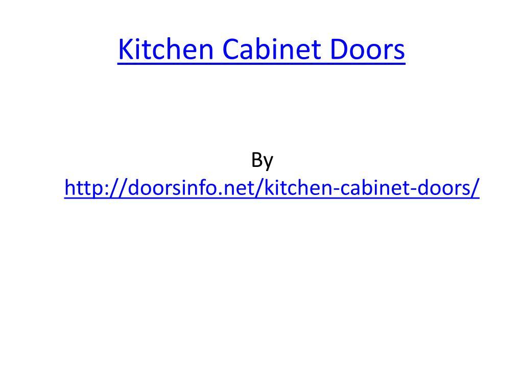 kitchen cabinet doors l.