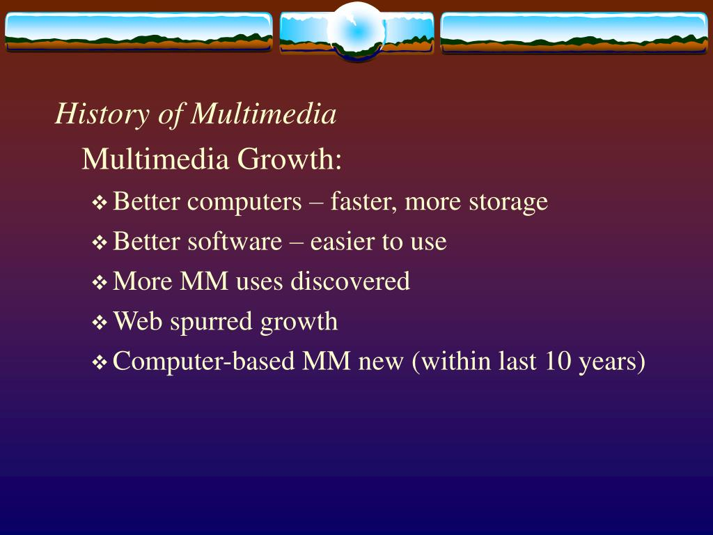 History of Multimedia