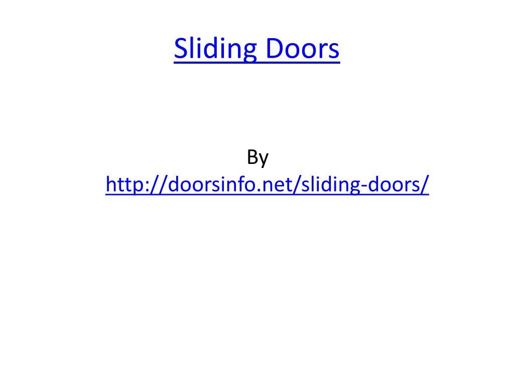 sliding doors l.