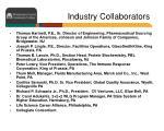 industry collaborators