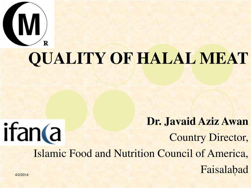 quality of halal meat l.