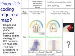 does itd coding require a map