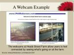 a webcam example