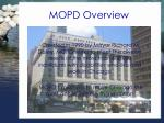 mopd overview