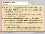 exclusionary rule weeks v us