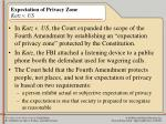 expectation of privacy zone katz v us