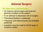 adrenal surgery