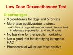 low dose dexamethasone test35