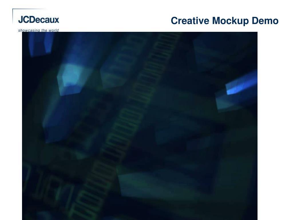 Creative Mockup Demo