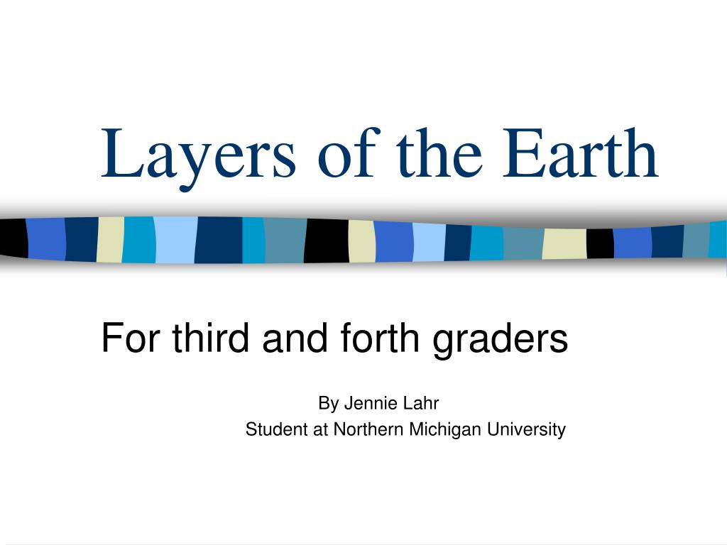 layers of the earth l.