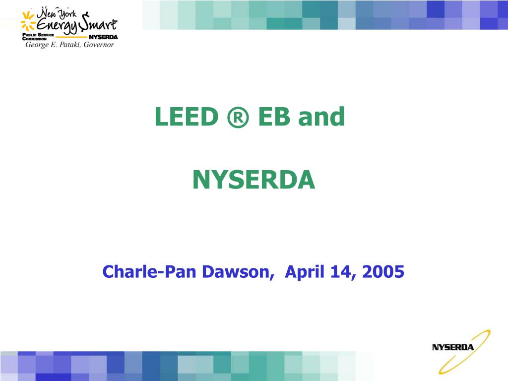 leed eb and nyserda l.