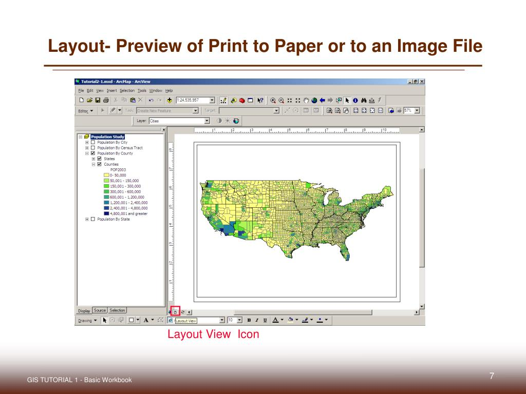 Layout- Preview of Print to Paper or to an Image File