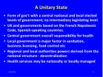 a unitary state