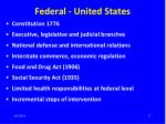 federal united states