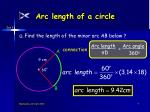 arc length of a circle7