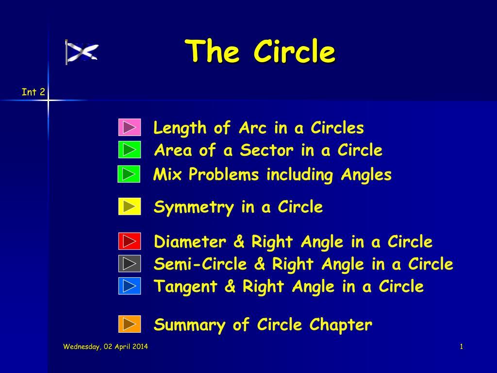 the circle l.