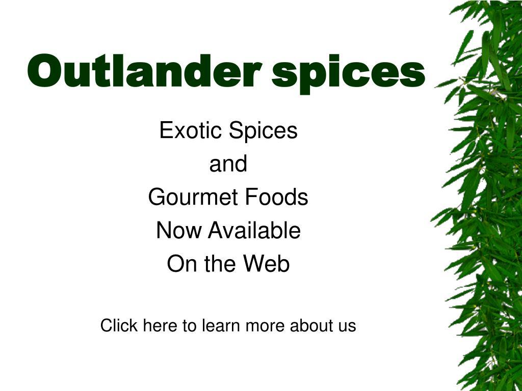 outlander spices l.