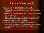 forms of violence ii