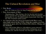 the cultural revolution and mao