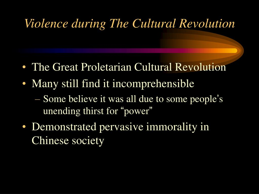 violence during the cultural revolution l.